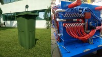 Waste Bin Moulds with Low Wall Thickness and Multi-Point Injection