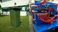 Contenidores para basura con espesores sutiles multi-inyección